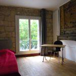 A louer Studio meublé hyper centre de Tours par Gautard immobilier pièce de vie