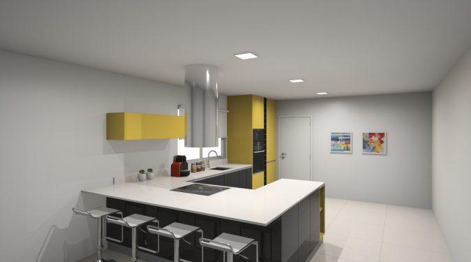 A louer maison type 5 Savonnières par Gautard Immobilier cuisine américaine