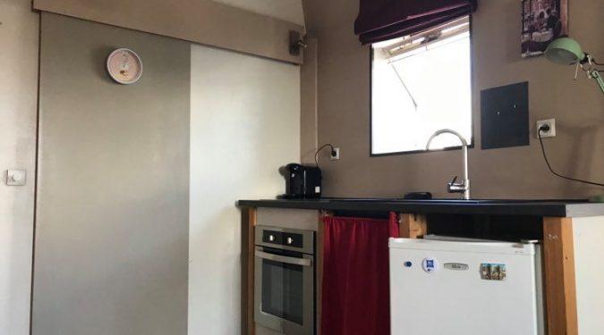 A louer Studio Tours centre Gare par Gautard Immobilier pièce de vie
