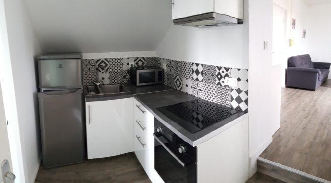 cuisine du t2 meublé saint avertin loué par tours n gestion immo 37