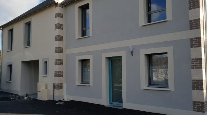 Façade appartement T2 neuf loué par tours n gestion immo 37
