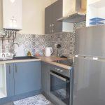 Type 2 meublé Quartier Paul Bert loué par Gautard immobilier cuisine