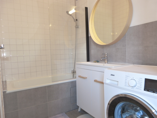 Type 2 meublé Quartier Paul Bert loué par Gautard immobilier salle de bain