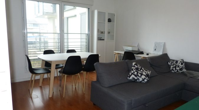 A vendre appartement type 2 proche de la gare par Gautard Immobilier séjour