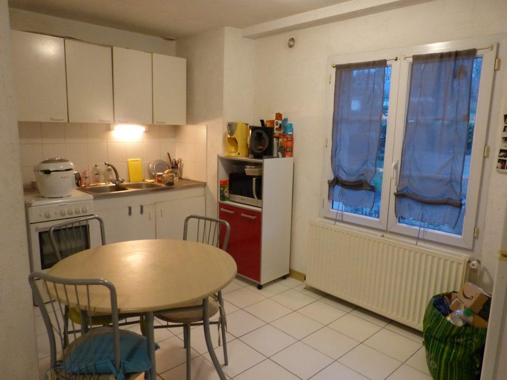 A louer studio Parcay-Meslay par Gautard immobilier cuisine