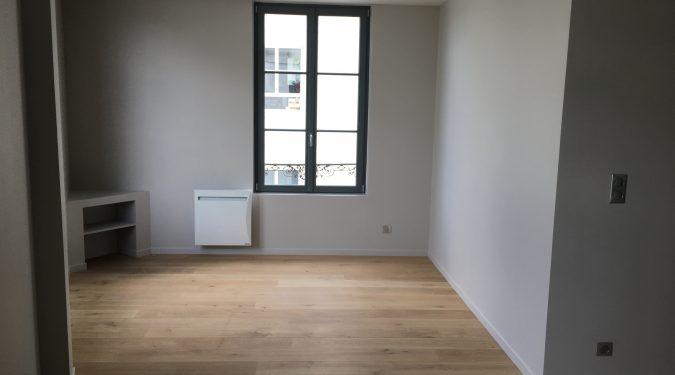 A louer appartement Type 3 Tours Centre Halles par Gautard immobilier séjour