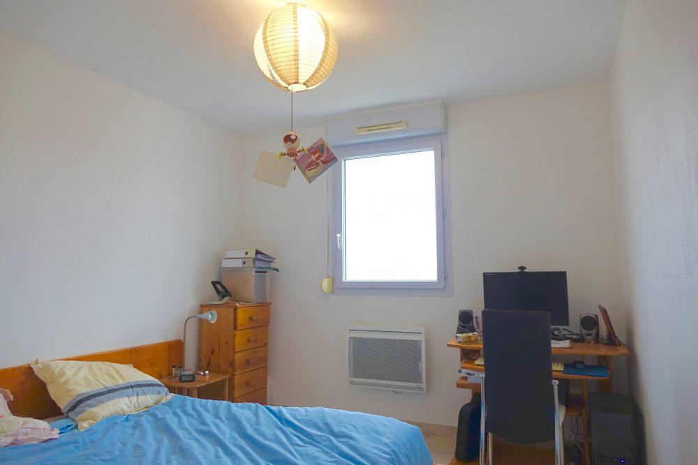 A louer appartement type 3 Quartier des deux Lions par Gautard Immobilier chambre