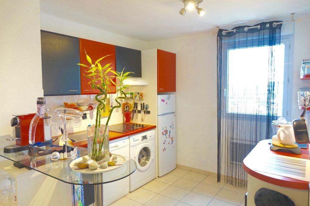 A louer appartement type 3 Quartier des deux Lions par Gautard Immobilier cuisine