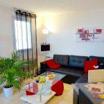 A louer appartement type 3 Quartier des deux Lions par Gautard Immobilier séjour