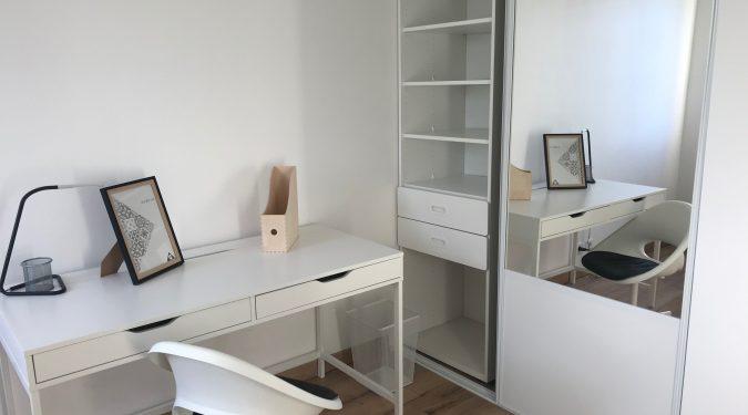 chambre dans un appartement en colocation Tours quartier Montjoyeux loué par Tours n gestion immo 37