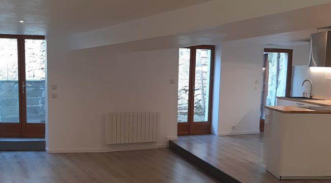 A louer maison Saint Epain par Gautard immobilier séjour
