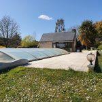A vendre maison Azay le Rideau par Gautard Immobilier jardin piscine