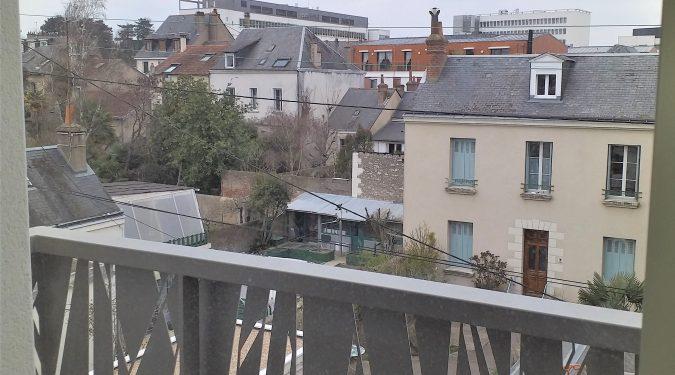 A louer studio dans résidence neuve tours Centre par Gautard immobilier vue extérieure