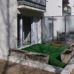 A louer Type 3 Tours Quartier Mirabeau par Gautard Immobilier terrasse