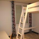 A louer chambre meublée en colocation à Tours Sud par Gautard Immobilier lit