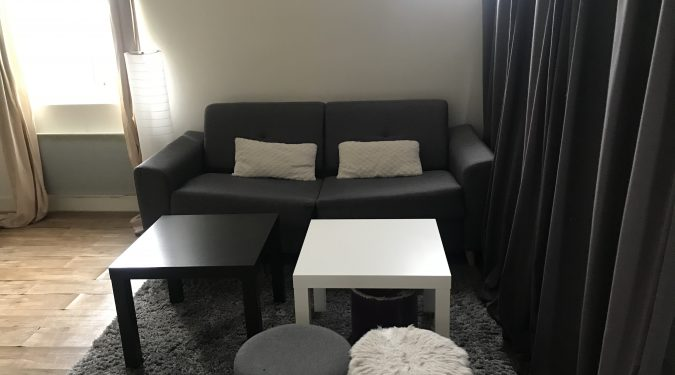 A louer studio dans l'hyper centre de Tours par Gautard Immobilier pièce de vie