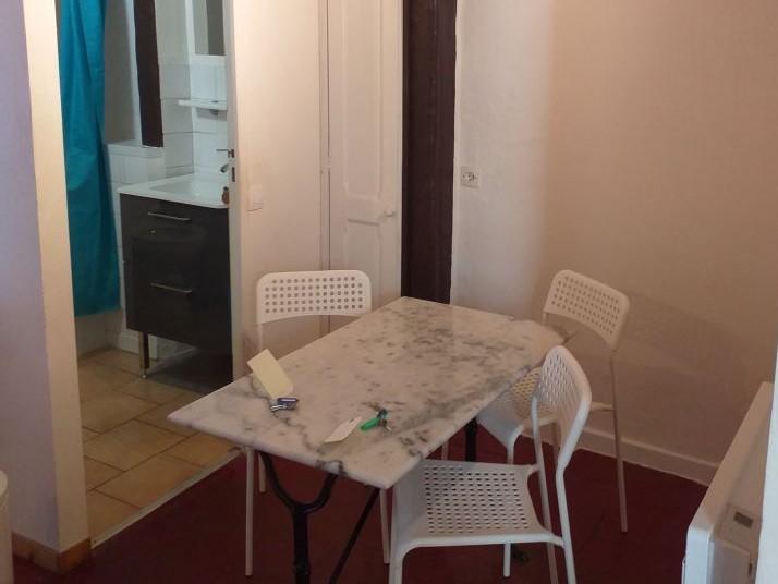 A louer studio meublé Tours centre proche fac de lettres par Gautard Immobilier coin repas