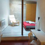 A louer studio meublé Tours centre proche fac de lettres par Gautard Immobilier coin nuit