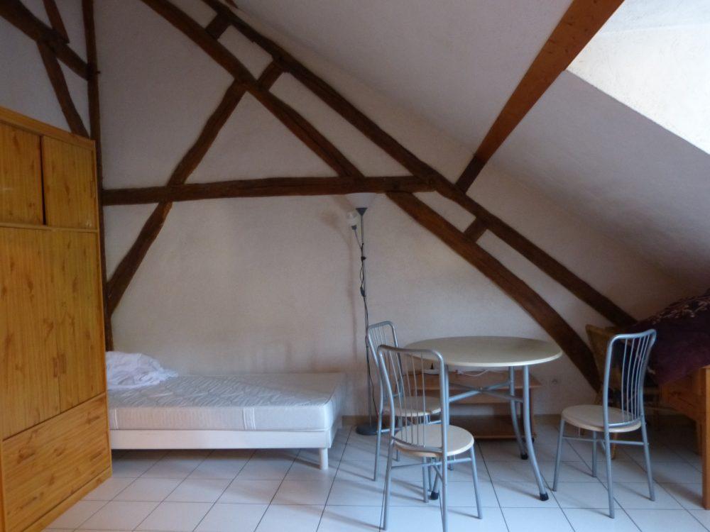 A louer studio meublé entre Parcay-Meslay et Rochecorbon par Gautard Immobilier pièce de vie