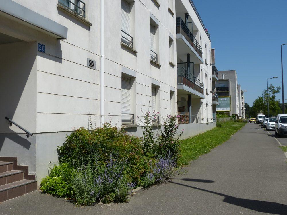 A louer Type 2 meublé Tours Nord par Gautard Immobilier vue extérieure