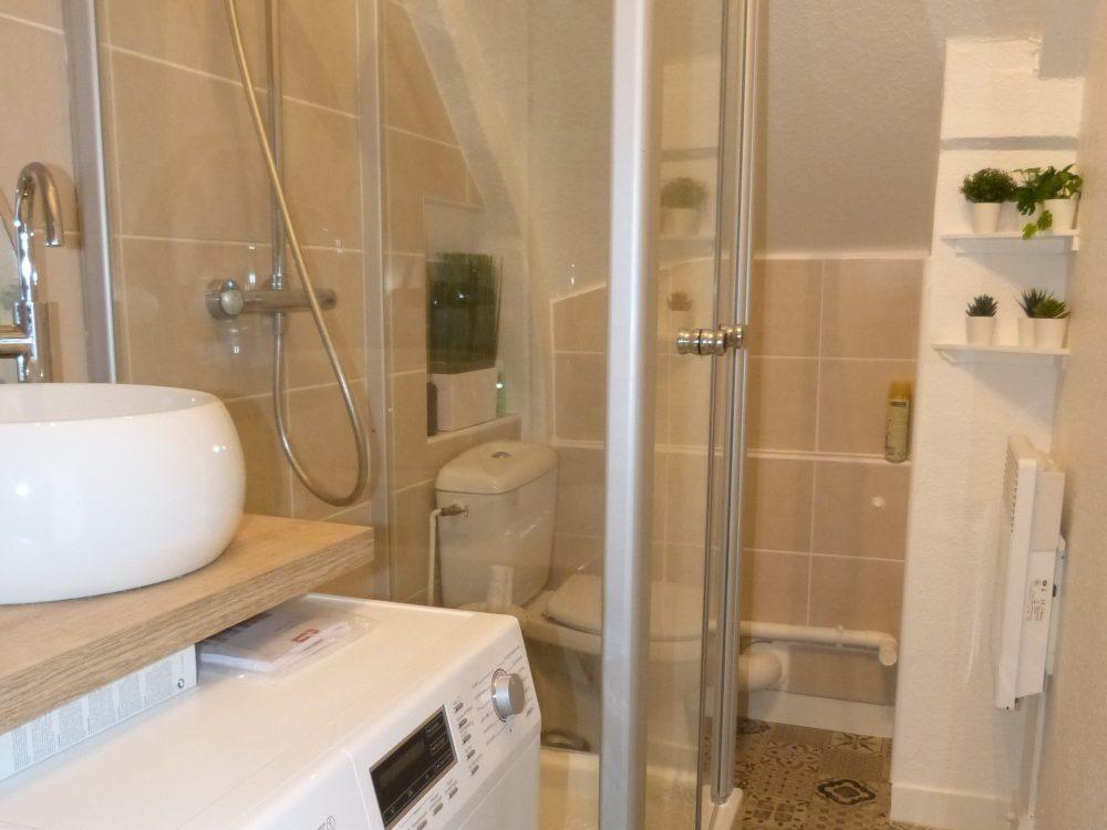 salle de douche type 2 à Tours