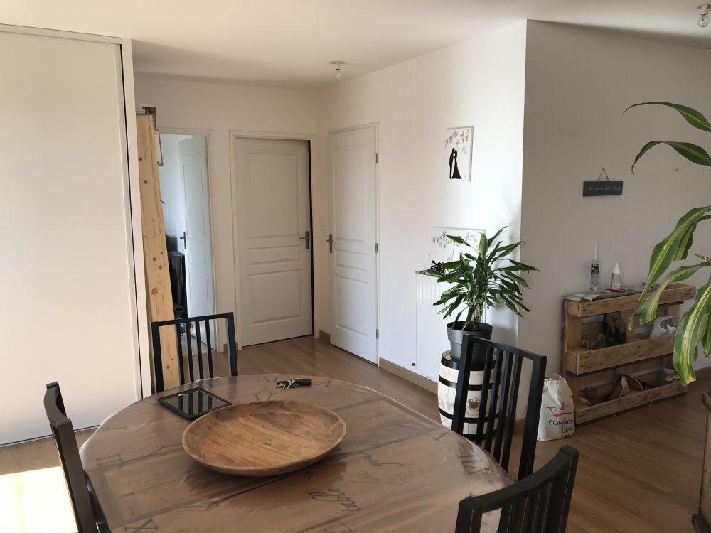 A louer appartement type 3 avec terrasses Tours Nord par Tours'N Gestion séjour